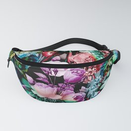 Multicolor Floral Pattern Fanny Pack