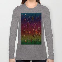 Rainbow Stars Long Sleeve T-shirt