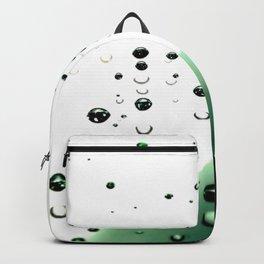 Digital Rain Drops Backpack