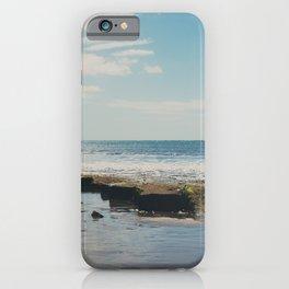 Lyme Regis Ocean Photograph iPhone Case
