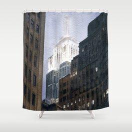 Manhattan Fog Shower Curtain