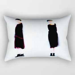 dancing girl Rectangular Pillow