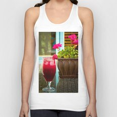 Summer is.... Happiness Unisex Tank Top