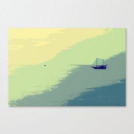 Mediterranean Sea Canvas Print