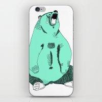 beer iPhone & iPod Skins featuring Beer by Leen Dejonghe