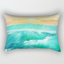 Light in a storm Rectangular Pillow