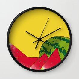 Sandias Wall Clock