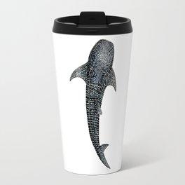 Whale shark Rhincodon typus for divers, shark lovers and fishermen Travel Mug