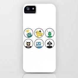 Robot Friends iPhone Case