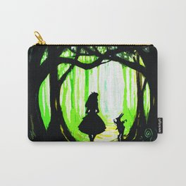 alice and rabbits Carry-All Pouch