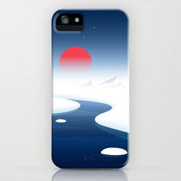 North Pole iPhone Case