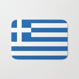 Flag of Greece Bath Mat