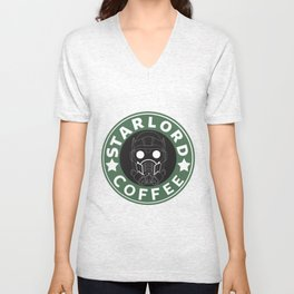 Starlord coffee Unisex V-Neck