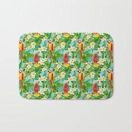 Tropical Parrot Chillin Bath Mat