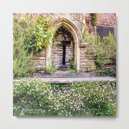 Usk Castle St George Chapel 2 Metal Print