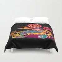 ripley Duvet Covers featuring RIPLEY'S BITCH-BUSTER by BeastWreck