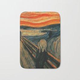 The Scream - Edvard Munch Bath Mat