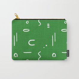 Peppy (moss green) Carry-All Pouch