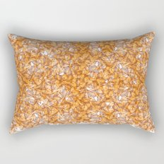 Trompe-l'œil - Starfruit vs. Autumn Rectangular Pillow