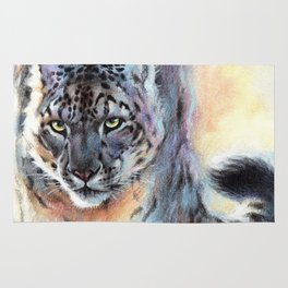 Snow Leopard - Out of Nowhere Rug