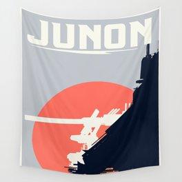 Final Fantasy VII - Visit Junon Propaganda Poster Wall Tapestry