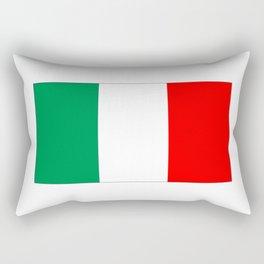 Italian flag-Italy,Italia,Italian,Latine,Roma,venezia,venice,mediterreanean,Genoa,firenze Rectangular Pillow