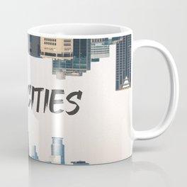 Twin Cities Minneapolis and Saint Paul Minnesota Coffee Mug