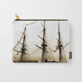 Gold Ship Carry-All Pouch