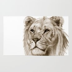 A Lion :: Without Pride Rug