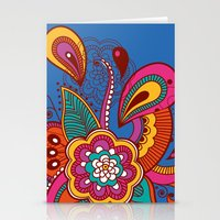 henna Stationery Cards featuring Henna Colour by nicky9