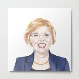 Women of the 113th - Sen. Elizabeth Warren Metal Print