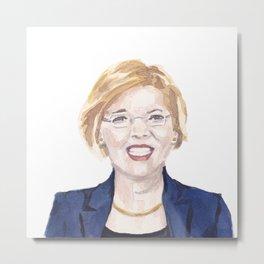 Women of the 113th - Sen. Elizabeth Warren Metal Print