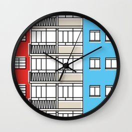 Edificio Canaima -Detail- Wall Clock