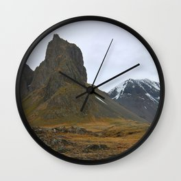 Red of the Fire Land Wall Clock