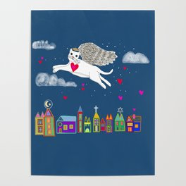 Kitty Angel Poster
