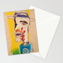 Ronald Harrington / Acrylic and Ink on paper Stationery Cards