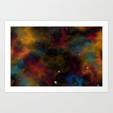 Final Frontier Abstract 2 Art Print