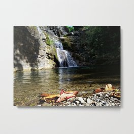 """Ultimo brinco"" waterfall @ Rincon, Puerto Rico 2 Metal Print"