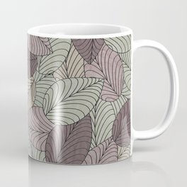 Vector Seamless Leaves Pattern II Coffee Mug