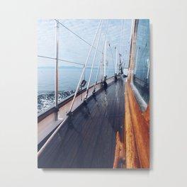 Haro Strait Metal Print