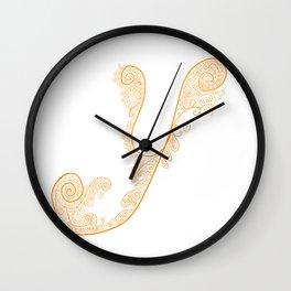 Alphabet Soup: Y Wall Clock