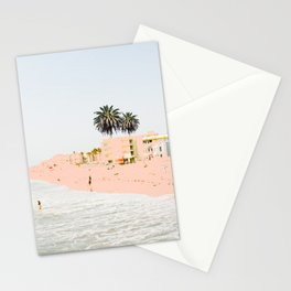 Pink Beach #society6 #decor #buyart Stationery Cards
