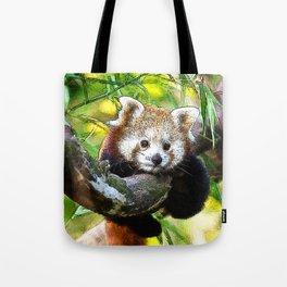 CArt red Panda Baby Tote Bag
