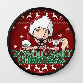 Have yourself a merry Griswold Family christmas Wall Clock