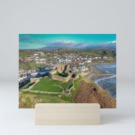 Criccieth Castle Mini Art Print