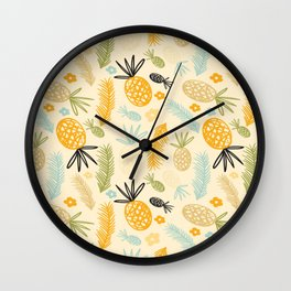 Pineeeeeee Wall Clock