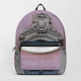 Pink Spanish Facade Backpack