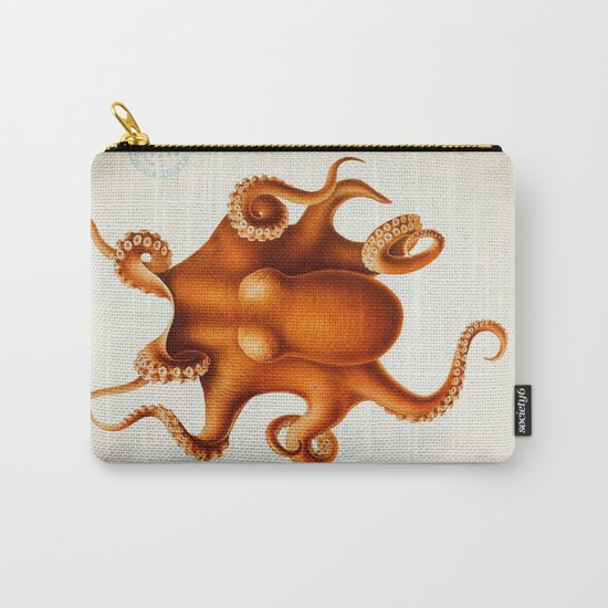 Octopus Cephalopod 1915 Carry-All Pouch