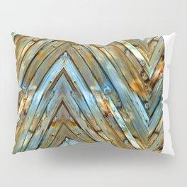 Knotty Plank Texture Pillow Sham