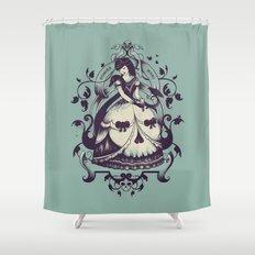 Mrs. Death Shower Curtain